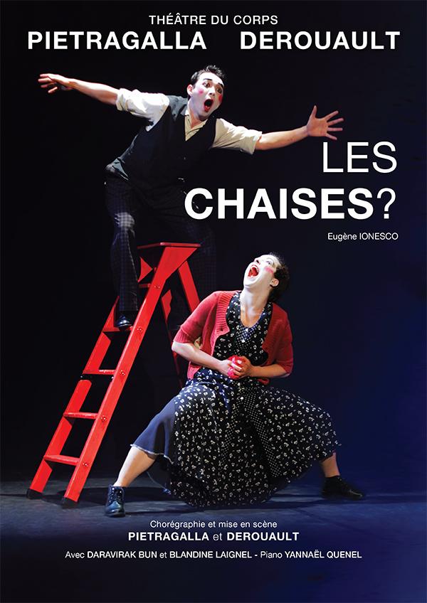 Les Chaises? Chorégraphie Marie-Claude Pietragalla et Julien Derouault Photo Pascal Elliott