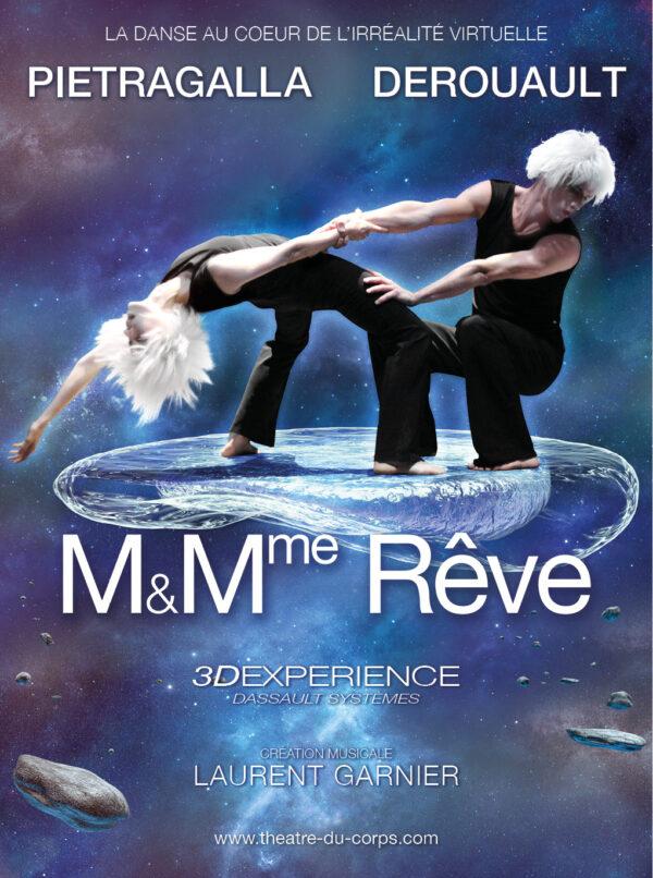 M. & Mme Rêve Chorégraphie Marie-Claude Pietragalla et Julien Derouault Photo Pascal Elliott