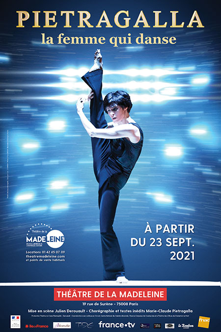 Pietragalla la Femme qui Danse - Chorégraphie Marie-Claude Pietragalla et Julien Derouault Photo Pascal Elliott