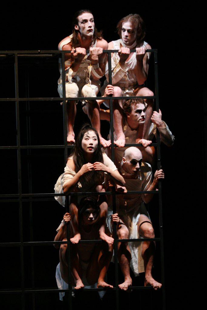 Sade le théâtre des fous Chorégraphie Marie-Claude Pietragalla et Julien Derouault Photo Pascal Elliott