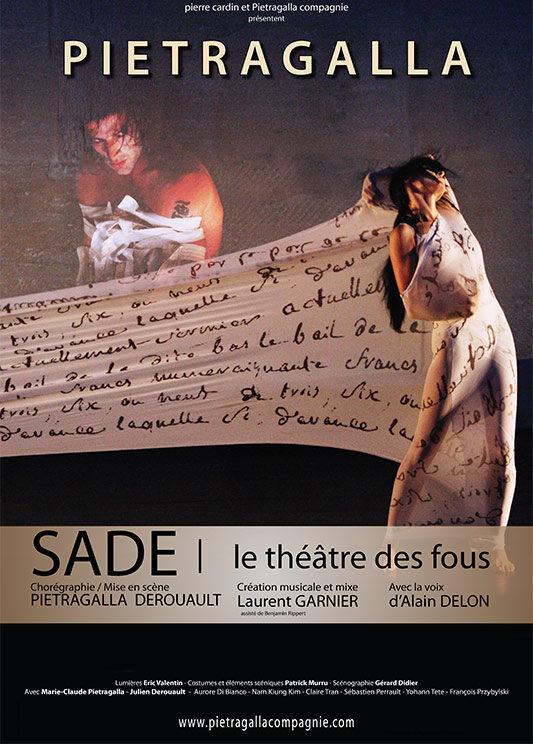 Sade, le théâtre des fous Chorégraphie Marie-Claude Pietragalla et Julien Derouault Photo Pascal Elliott